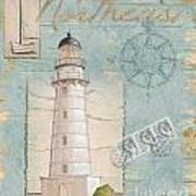 Seacoast Lighthouse II Art Print