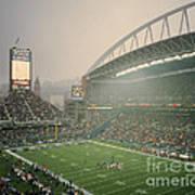 Seahawks Stadium 2 Art Print