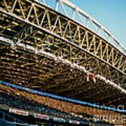 Seahawks Stadium 3 Art Print