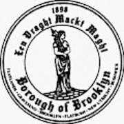 Seal Of Brooklyn Art Print