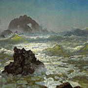 Seal Rock California Art Print