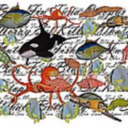 Sealife Dreamland IIi Art Print