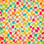Seamless Color Mosaic Background Art Print
