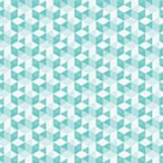 Seamless Pixel Pattern  Art Print