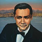 Sean Connery As James Bond Art Print