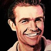 Sean Connery Art Print by Shirl Theis
