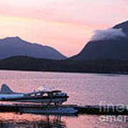 Seaplane And Cloud Art Print