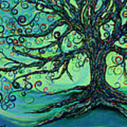 Searching Branches Art Print