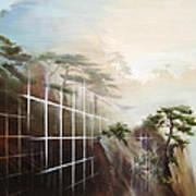 Searching Huang Shan Art Print