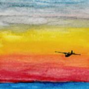 Searching The Vastness - Pby Catalina On Patrol Art Print