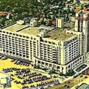 Sears Roebuck And Co. In Memphis Tn In 1941 Art Print