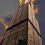 Sears Willis Tower Art Print