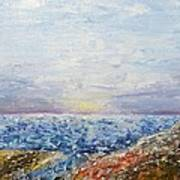 Seascape Art Print by Draia Coralia