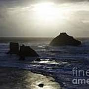 Seascape Oregon Coast 4 Art Print