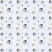 Seashell Pattern Art Print