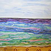 Sunny Seashore  Art Print
