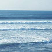 Seaside Blue Art Print