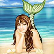 Seaside Daydreams Art Print