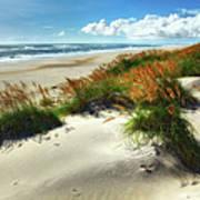 Seaside Serenity I - Outer Banks Art Print