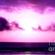 Seaside Sunset Art Print