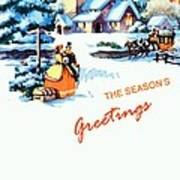 Season Greetings Art Print