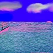 Sea.sun Art Print