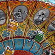 Seaswings At Santa Cruz Beach Boardwalk California 5d23906 Art Print