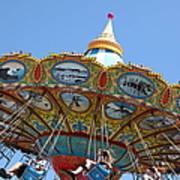 Seaswings At Santa Cruz Beach Boardwalk California 5d23907 Art Print