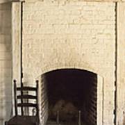 Seat By The Hearth Print by Margie Hurwich