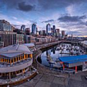 Seattle Bell Street Pier Art Print