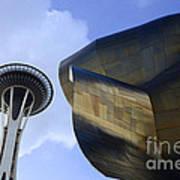Seattle Emp Building 4 Art Print
