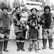 Seattle Eskimo Family Art Print