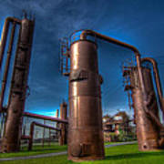 Seattle Gas Works Park Art Print