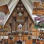 Seattle Organ  Art Print