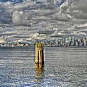 Seattle Skyline And Cityscape Art Print