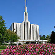Seattle Temple Art Print