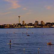 Seattle Waterfront 2 Art Print