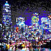Seattle Waterfront Art Print