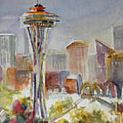 Seattle's Icon Art Print