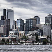 Seattle's Skyline Art Print