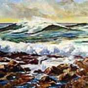 Seawall Art Print