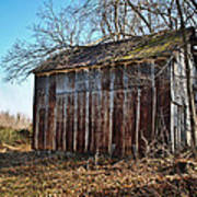 Secluded Barn Series Art Print