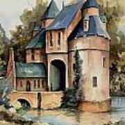 Secluded Castle Art Print
