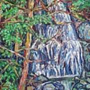 Secluded Waterfall Art Print