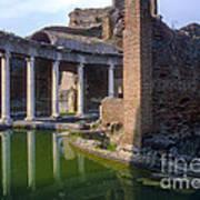 Second Century Villa Of Emperor Hadrian  Art Print