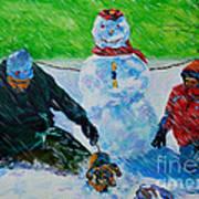Second Snow Art Print