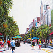 Second Sunday On King St. Art Print