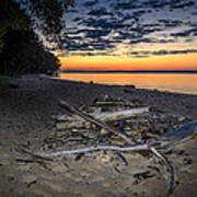Seconds Before Potomac Sunrise Art Print