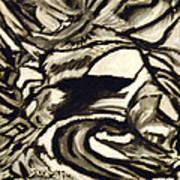 Secret Cave Art Print