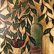 Secret In The Garden Art Print